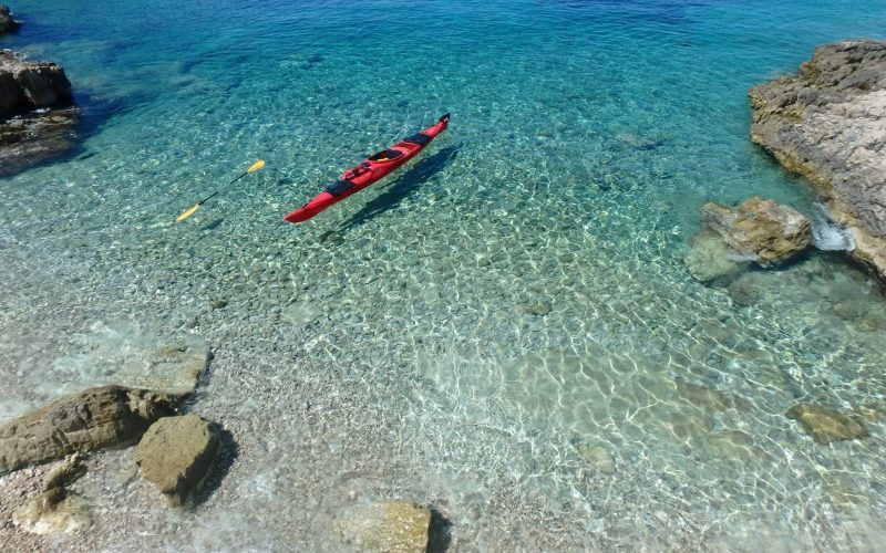 Morning wakeup - Island hopping sea kayak tour Croatia - Red Adventures
