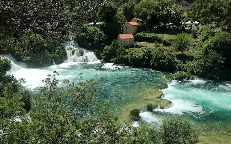 National park Krka - Hiking holiday in Croatia