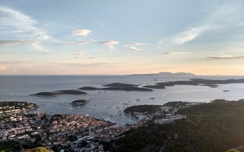 Pakleni islands next to Hvar town - Hiking holiday in Croatia