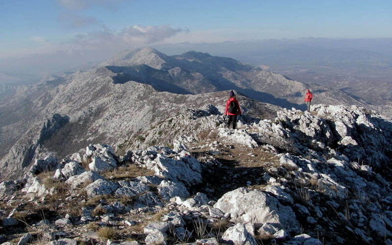 Mosor hill ridge - Hiking holiday in Croatia