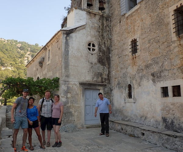 Museum visit at Blaca monastery - Hiking holiday in Croatia
