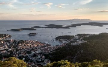 Hiking in Croatia Hvar island
