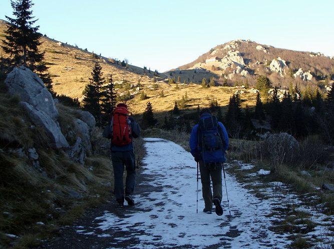 Hiking Majestic Velebit mountain in Croatia