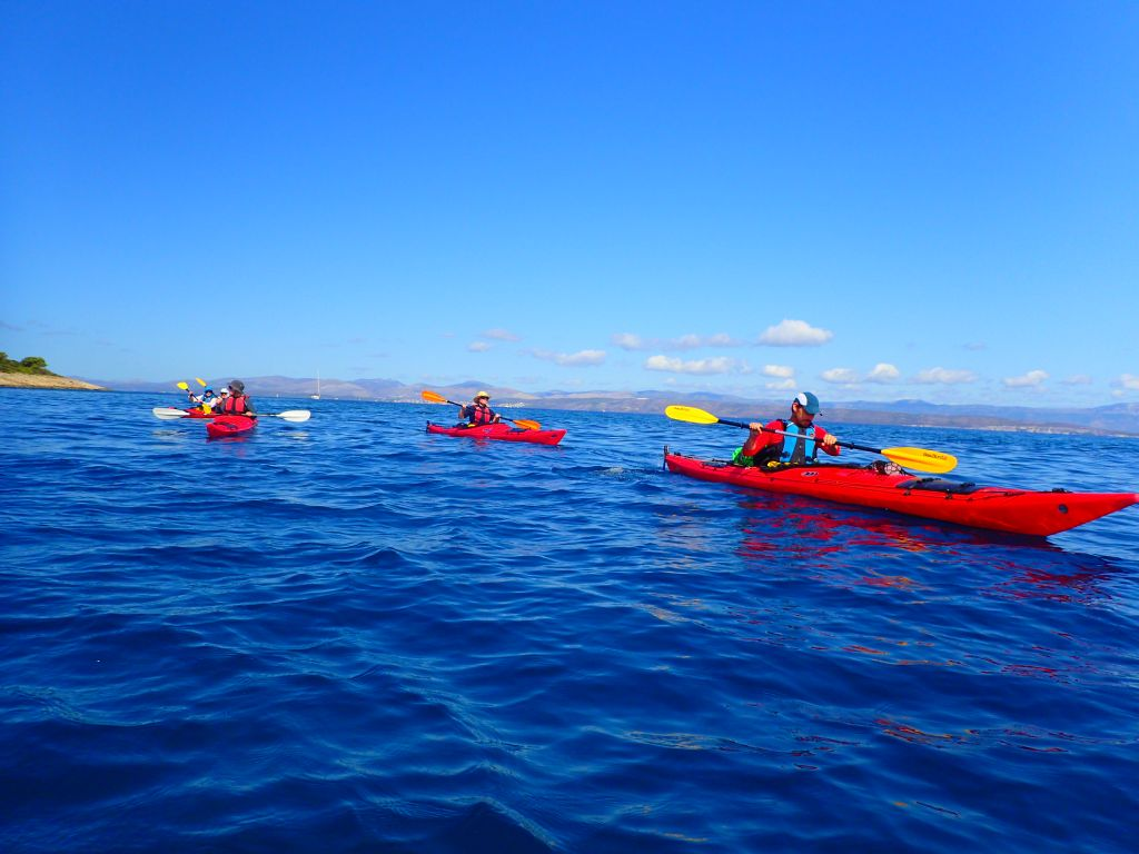 Island Hopping (7 days) | Sea kayak tours Croatia | Red Adventures