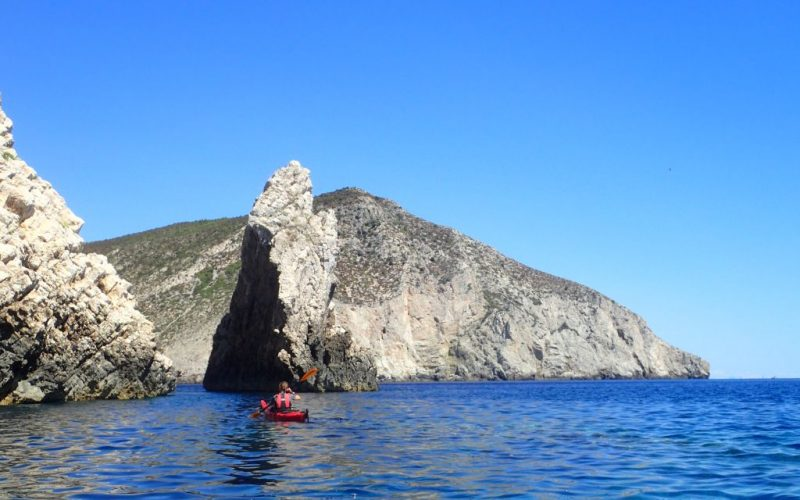 Vis landscape - Magic island sea kayak tour Croatia