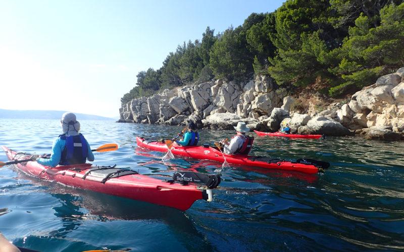 Self guided kayak Croatia - Red Adventures