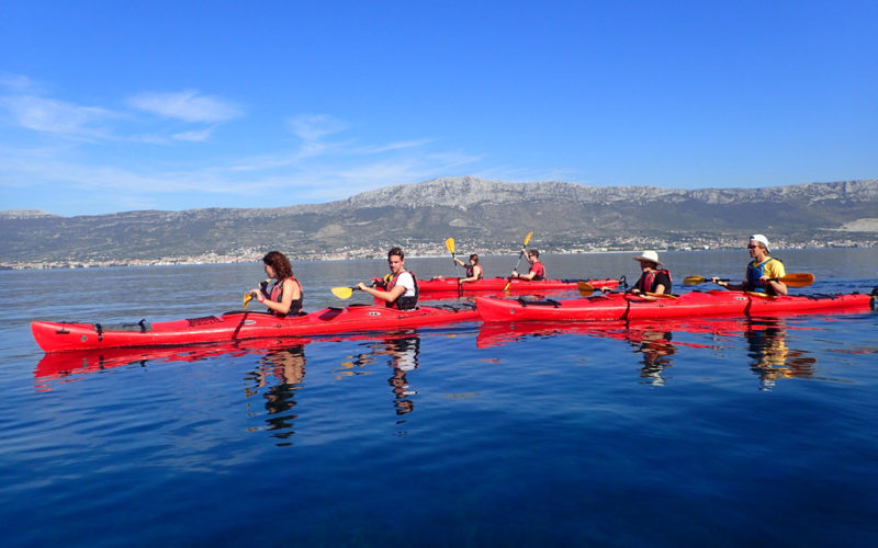 Self guided kayak Croatia - Red Adventures