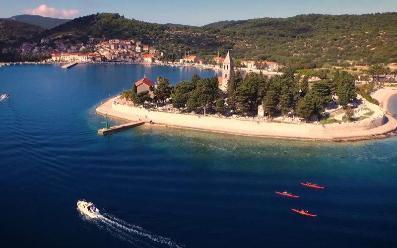 Town of Vis - Magic island sea kayak tour Croatia