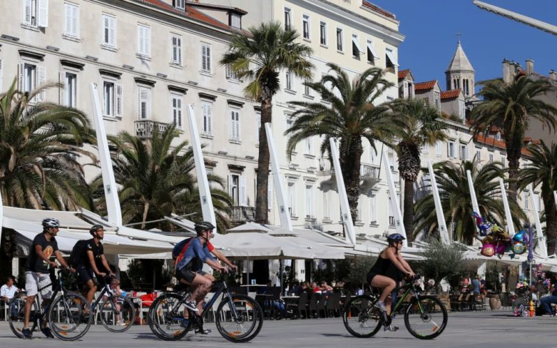 Split bike tour - Cycling in Split with Red Adventures Croatia