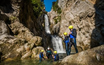 Canyoning Split Croatia - Cetina river