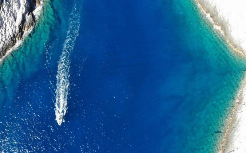 Turquoise Adriatic sea