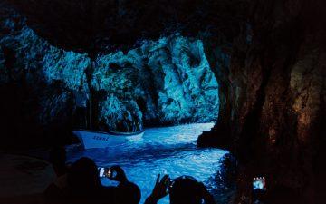 Blue cave visit