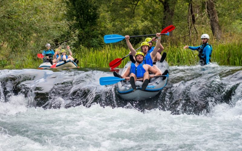 Rafting on Cetina River - Split
