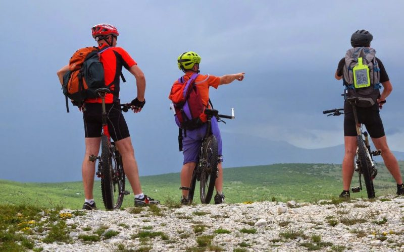 MTB biking in Croatia