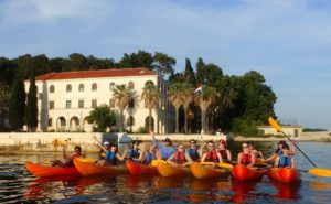 Sea kayak tours in Croatia