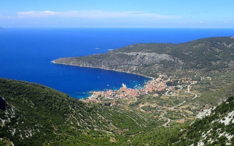 Hiking on island Vis (Croatia)