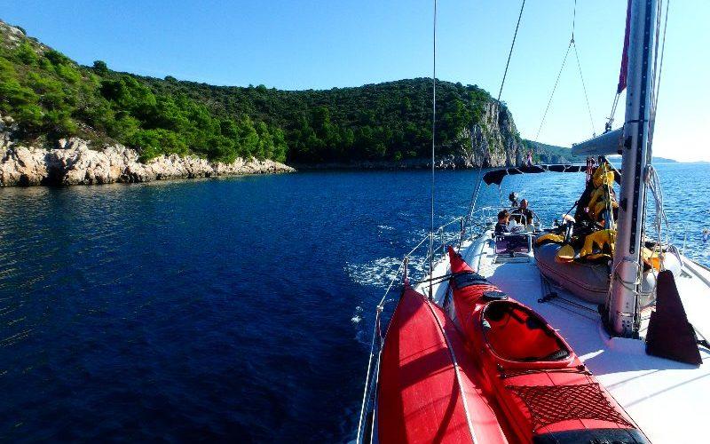 Exploring the Croatian coast